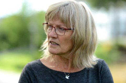 NORM: Stortingsrepresentant Karin Andersen (SV) vil at Stortinget skal få på plass en bemanningsnorm som Staten skal betale.