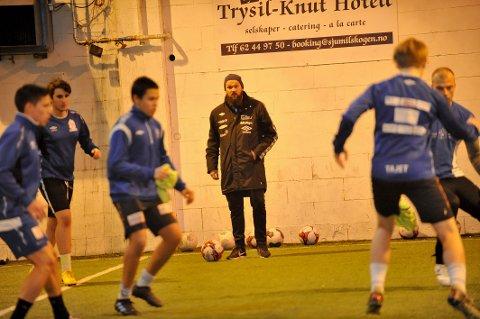 BYGGER NYTT: Yngve Sandbuløkken har tatt over Nybergsund. Der må han bygge et helt nytt lag foran klubbens første sesong på nivå fire siden 2000.