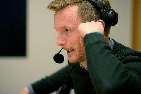 LEDER: Ulrik Balstad får ærene av å lede denne podkasten i fraværet av den egentlig sjefen.