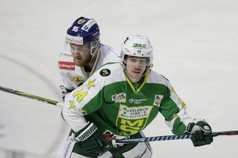 Tord Thorsen scoret det avgjørende målet da Manglerud Star slo Storhamar i eliteserien i ishockey.