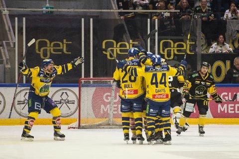 Storhamar er klar for NM-finale etter seier mot Stavanger Oilers mandag. Foto: Carina Johansen / NTB scanpix