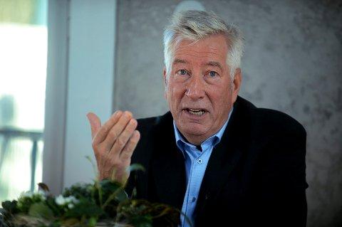 VERDIER: Sigbjørn Johnen skal til Grue for å snakke om arbeiderbevegelsens ideologi og verdier.