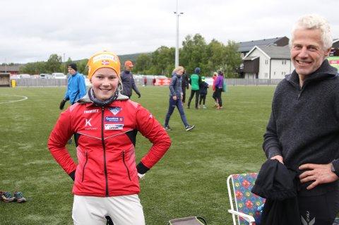 OPPKJØRING: Mari Grøtli Svergja var av de beste på den ene konkurransen hun deltok på under Sommerløpene. Kviknejenta vil bruke sommeren til å finpusse teknikken til Hovedløpet.