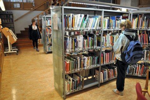 OGSÅ PÅ EN SØNDAG: Høyre vil ha søndagsåpent bibliotek, men har ikke regnet på kostnaden.
