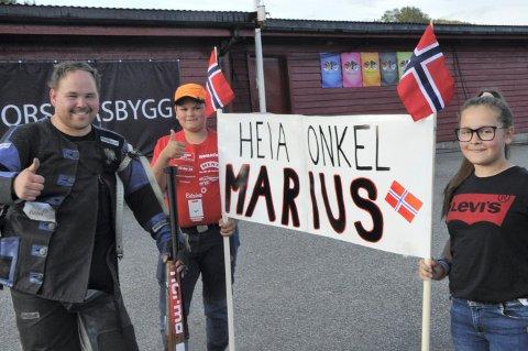 HEIAGJENG: Marius Mellembakken hadde sin egen heiagjeng fra Sørskogbygda.