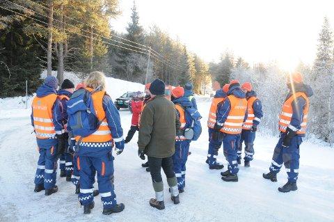 LETEMANNSKAPER 20 personer i Fredsinnsatskorpset (Sivilforsvaret) i Engerdal deltok i søket etter den savnede kvinnen fredag.