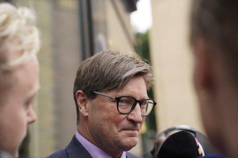 BER OM VOTERING: Christian Tybring-Gjedde har bedt om votering i stortingsgruppen om Frps regjeringsdeltakelse, men det blir det ikke noe av. (Foto: Heiko Junge / NTB scanpix)