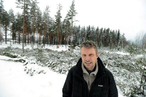 MANGEL PÅ REALISME: Gjermund Gjestvang i MDG Elverum/Solør mener ulvefrykten mange gir uttrykk for er subjektiv og urealistisk.
