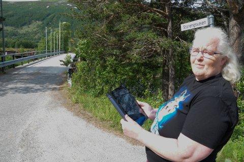 ADRESSEKRØLL: - Kvikne Camping har i alle år ligget i Storengsveien og ikke Letanveien 8 som Posten påstår, sier Heidi Smehagen. Siden i fjor sommer har hun sendt flere klager til Postens kundeservice, uten at de har ført fram.