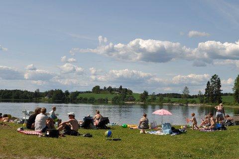 SILLONGEN: Blant de lokale badeperlene er Sillongen på FHI-lista over forekomst av  svømmekløe.