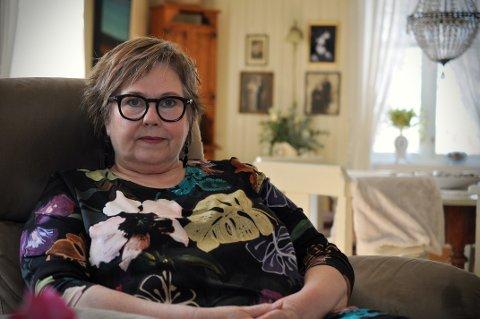 UTMATTET: Torill Larsen (59) har vært koronasyk to ganger. Hun er fremdeles sykmeldt etter at hun fikk påvist koronaviruset i oktober i fjor.