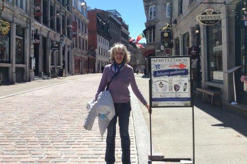 KLAR FOR ELVERUM: Norske Elisabeth Lindboe forlater Canada for å bli biblioteksjef i Elverum.