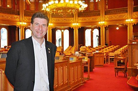 Stortingsrepresentant Stein Erik Lauvås (Ap).
