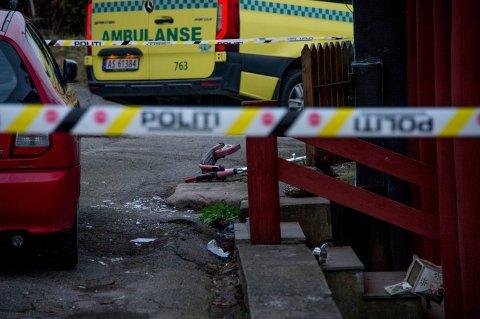 En mann i 40-årene er siktet for drap på en jevnaldrende mann på Lisleby mandag ettermiddag.