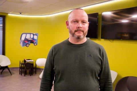 Kristian Devold, seksjonsleder for behandling og mestring i Indre Østfold kommune.
