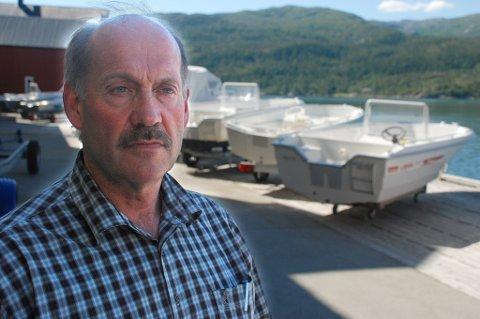 Ivar Præsteng topper inntektstoppen for Hemnes kommune i 2014 med en inntekt på over åtte millioner kroner i 2014.