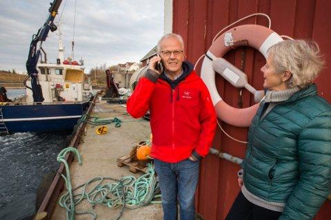 Aksel Owe Olsen ved Selsvøyvik Havbruk AS måtte innse at 2020 ble en nedgang etter toppåret 2019.