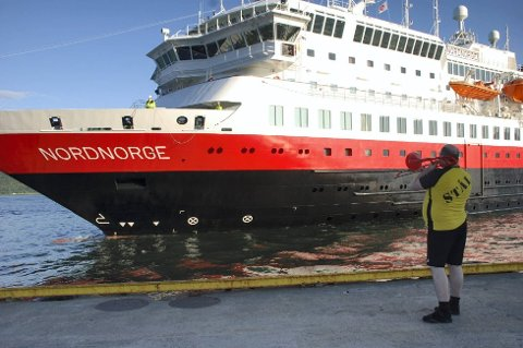 Hurtigruta seiler nå med overskudd, for første gang på 20 år. Foto: Ingeborg Andreassen