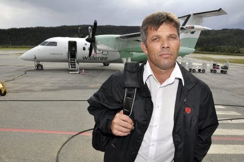 Fylkesleder for Nordland AP, Bjørnar Skjæran. Foto: Arne Forbord