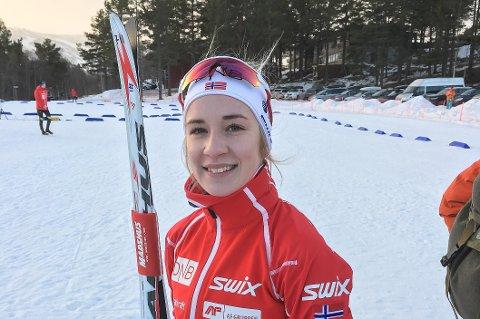 Emilie Ågheim Kalkenberg sprudler av selvtillit etter seier i senongåpningen.
