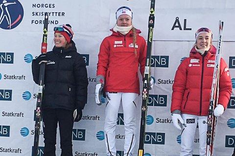 Ettet et hardt og jenvt løp ble det tredjeplass i lørdagens sprint i Norgescupen for Emilie Ågheim Kalkenberg fra Skonseng UL.