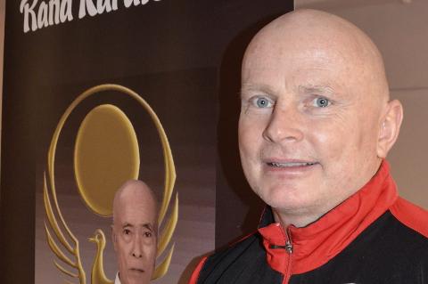 NY MULIGHET: Rana karateklubbs Ronny Olsen er nå utnevnt til regionstrener med ansvar for Midt- og Nord-Norge. Foto: Trond Isaksen