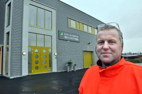 Torstein Karstensen, driftsleder ved Mo vannverk.