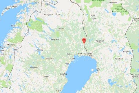 Övertornå kommune i Norrbottens län.