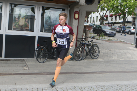 Even-Johan Kaspersen vil være av de aller, aller beste og er ikke helt fornøyd med NM-prestasjonen i Hamar sentrum.