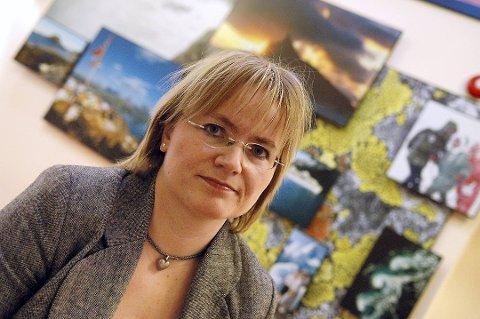 GLAD: Fylkesdirektør Cathrine Stavnes ved NAV Nordland er glad for at antall langtidsledige går ned.