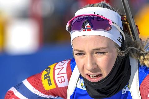 Emilie Ågheim Kalkenberg har fått skikkelig fart på karrieren i veldig ung alder.