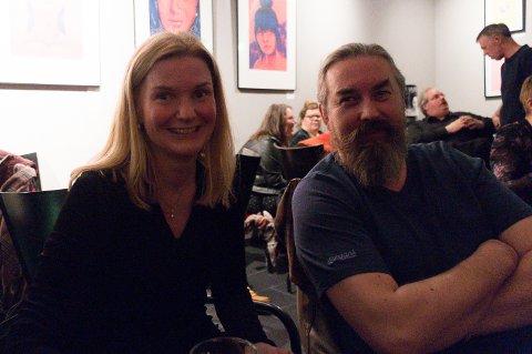 Tove Helen Johansen og Ørjan Åsland storkoste seg på julejam.