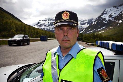 Geir Harald Marthinsen, distriktsleder i UP Nordland, Troms og Finnmark, mener de fleste oppfører seg, men at noen skrekkeksempler fortsatt er langs veiene.