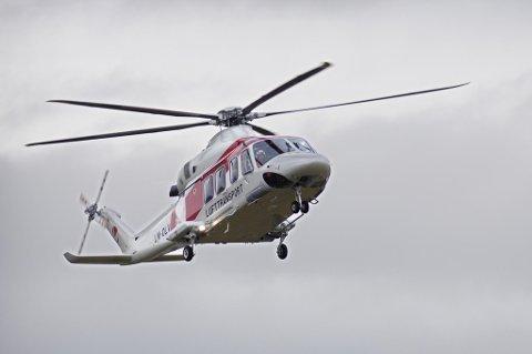 VUNNET KONTRAKT: Lufttransport vant kontrakt på drift av helikopterrute.