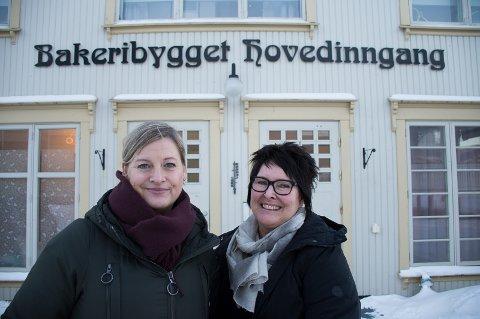 Festivalsjef, Hilde Høgseth, og leder for Bakeribygget, Grete Jacobsen Heggem, skal fokusere mer på psykisk helse under årets Bakeribyggfestival.