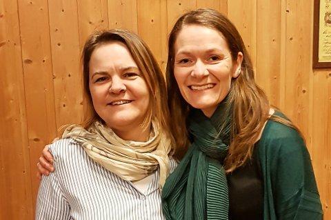 Hilde Anita Vassvik Snefjellå (t.h.) er ny leder i UL Daggry. Hun tar over ledervervet fra Ann Marit Flågeng.