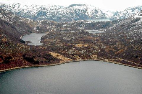 Lurøy var våtest i landet i februar. Arkivbilde, Harald Mathiassen