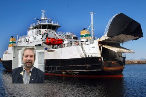Ordfører Håkon Lund (innfelt) i Lurøy kommune har oppnevnt en arbeidsgruppe for samferdsel som skal levere innen utgangen av november.