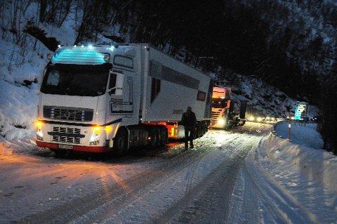 E6 mellom Fauske og Bognes er ulykkesutsatt og har mange tunneler som ikke oppfyller sikkerhetsforskriften. Strekningen er med i NTP for 2022-33. Foto: Øyvind A. Olsen