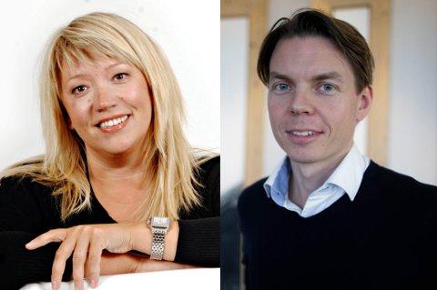 Vibeke Madsen og Adrian Dahl Johansen kjemper om toppjobben i NRK Nordland.