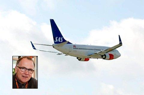 Jonny Edvardsen legger ikke skjul på hva han mener om at SAS onsdag vedtar et påbud som innføres allerede mandag, om munnbind for alle reisende, som de selv må skaffe seg: – Det er talentløst!