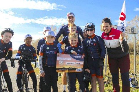 Leder i Sandnessjøen og Omegn Cykelklubb, Karl Einar Kjeldsand, er en av flere som tenner på sykkelrittet opp Korgfjellet lørdag den 6. juni.
