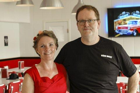 Elin og Trygve Danielsen. Foto: Johan Votvik