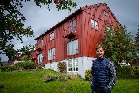 Ole Morten Grotnes selger dette huset på St.Hanshaugen.