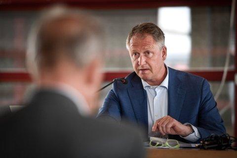 Rådmann Robert Pettersen er fornøyd med å levere et godt regnskapsresultat i et annerledes år preget av mye usikkerhet.