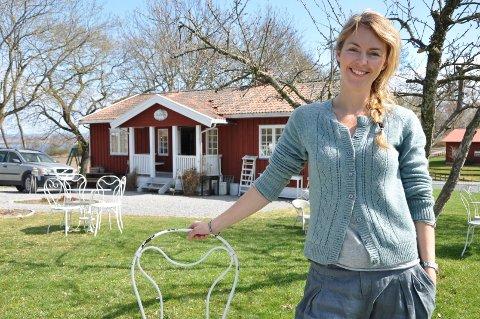 NY JOBB: Charlotte Sveinsen skal ikke ha det daglige ansvaret for Skafferiet på Helgøya lenger.