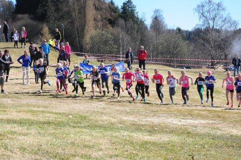 Med 250 løpere ble det ny deltakerrekord for terreng-KM.