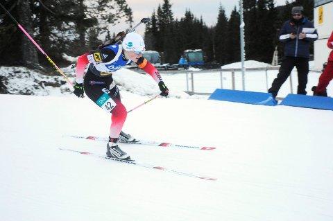 Sigrid Bilstad Neraasen ble nummer seks i NM.  Foto: Knut Erik Landgraff
