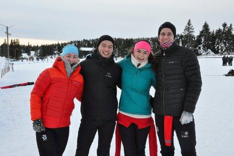 Nora Friis-Vollan (24), Marius Ekeberg (23), Dorthe Hemma (22) og Andre Bjugstad (22) var blant de 502 deltakerne som stilte opp på Romjulsrennet. De gjorde seg imidlertid bemerket med et noe unvanlig lagnavn.