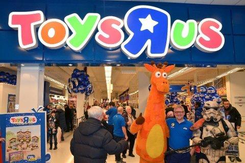 Butikkene til Toys'R'Us på Hamar og Gjøvik er blitt kjøpt opp av Bjarøy AS.